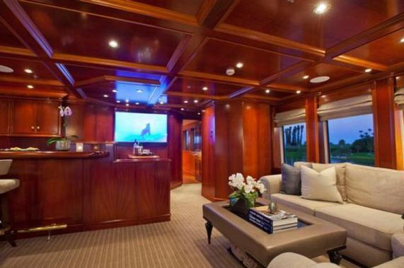 Discover Road Town surroundings on this Custom Palmer Johnson boat