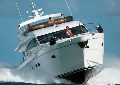 Discover Tortola surroundings on this 67 Princess boat