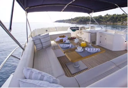 Boating is fun with a Sunseeker in Tortola