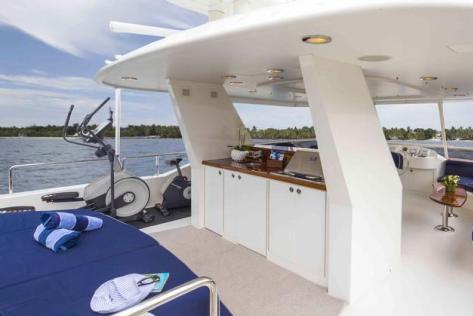 Boating is fun with a Motor yacht in Road Town