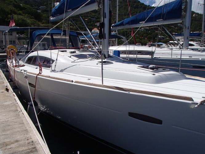 A great Beneteau for sailing the warm BVI waters