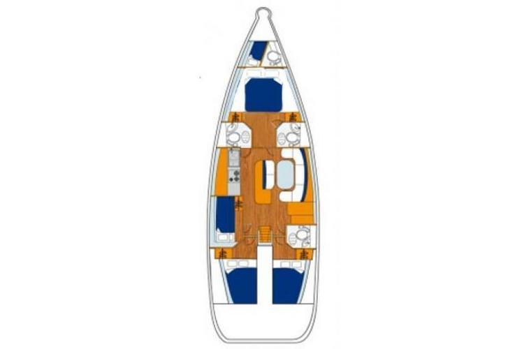 Beneteau boat for rent in Tortola