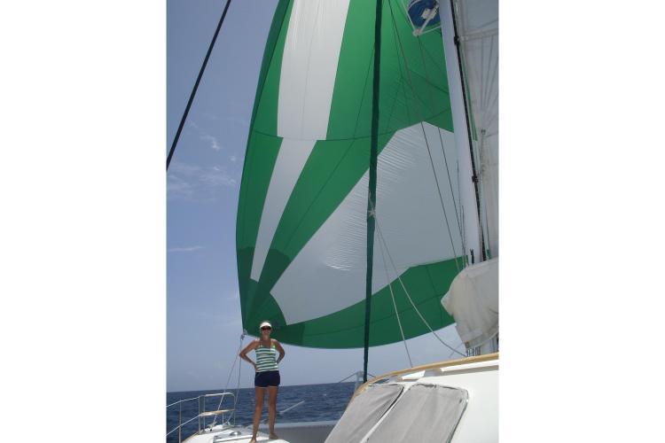 Discover Santa Barbara surroundings on this 471 Catana boat