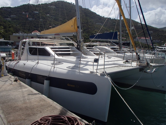 Sunbathe on this Dean while you sail to the BVI!