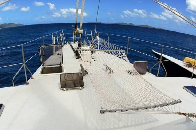 Boating is fun with a Trimaran in Tortola