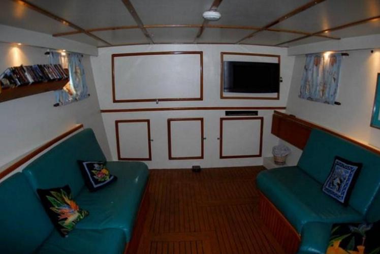 Trimaran boat rental in Soper's Hole Wharf & Marina, British Virgin Islands