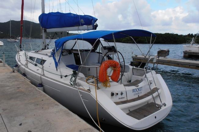 Sloop boat rental in Fort Burt Marina, British Virgin Islands