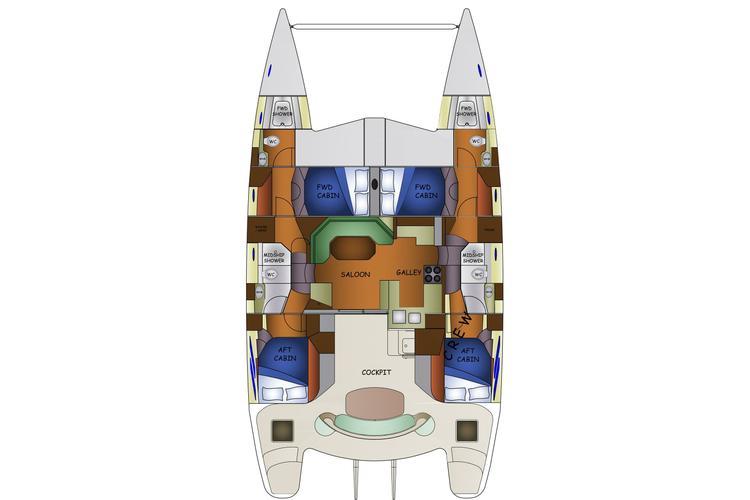 Discover Tortola surroundings on this 500 SE Knysna boat