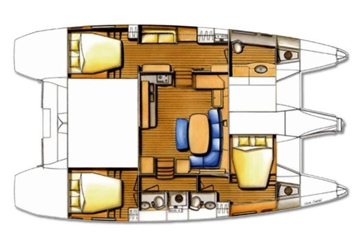 Boat for rent Lagoon 42.0 feet in Soper's Hole Wharf & Marina,