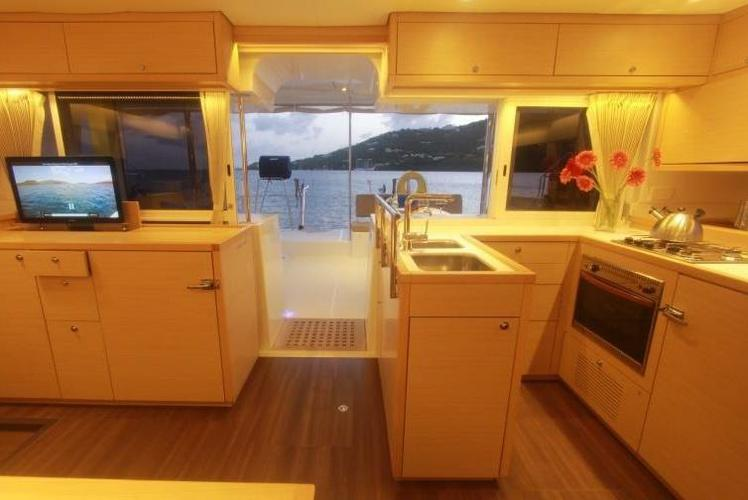 Catamaran boat rental in Soper's Hole Wharf & Marina,