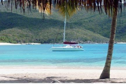 Lagoon's 55.0 feet in Tortola