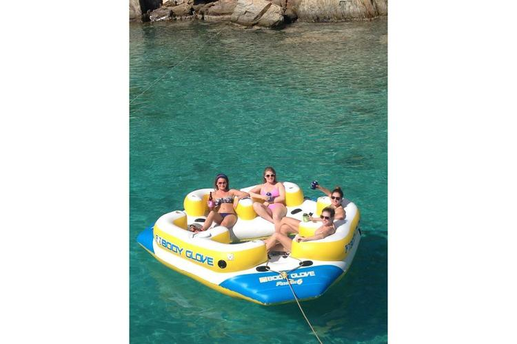 Boating is fun with a Lagoon in Tortola