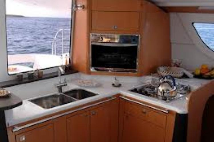 Catamaran boat rental in Fort Burt Marina,