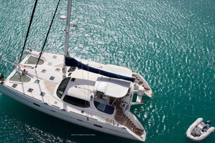 Boat for rent Privilège 58.0 feet in Soper's Hole Wharf & Marina,
