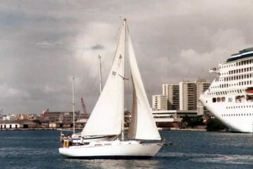 Sloop boat for rent in San Juan