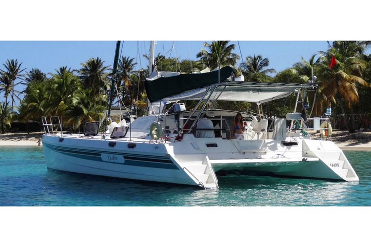 Discover Tortola surroundings on this 44 St. Francis Marine boat