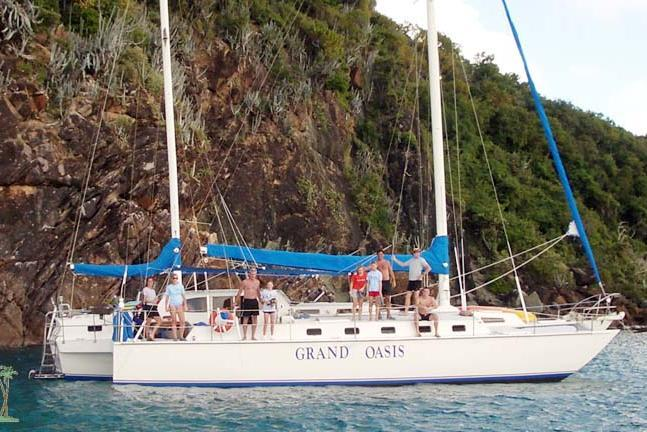 Charter this amazing Trimaran for an unbelievable trip!