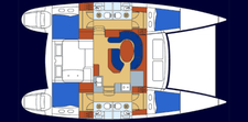 thumbnail-9 Lagoon  41.0 feet, boat for rent in Road Town, VG
