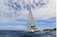 Take a Luxurious Trip with Your Family on this Catamaran!