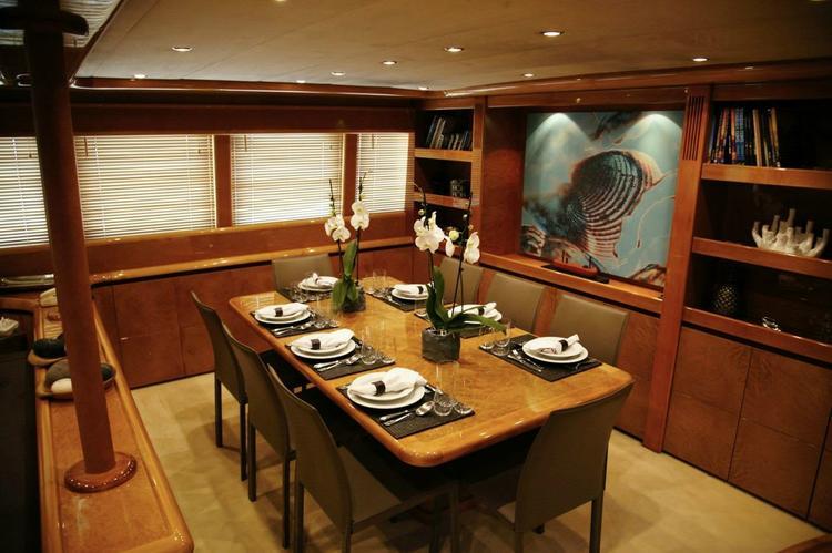 Mega yacht boat rental in Athens, Greece
