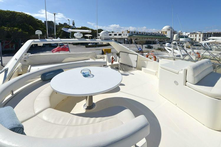 Convertible boat rental in Athens, Greece