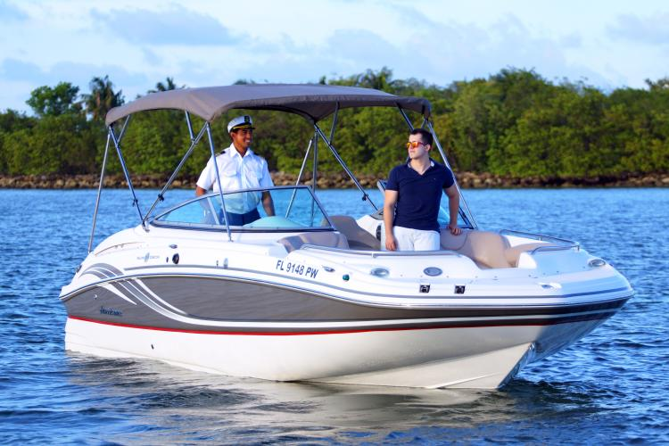 Boating is fun with a Classic in North Bay Village