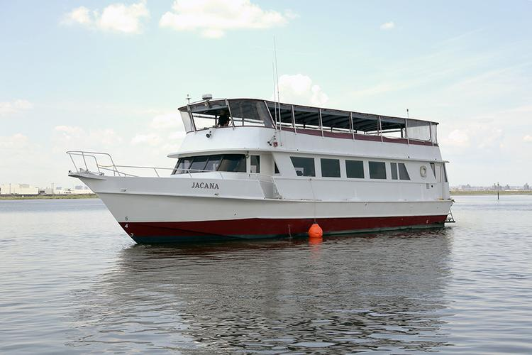 Jacana - A 75' Yacht perfect for your next event!