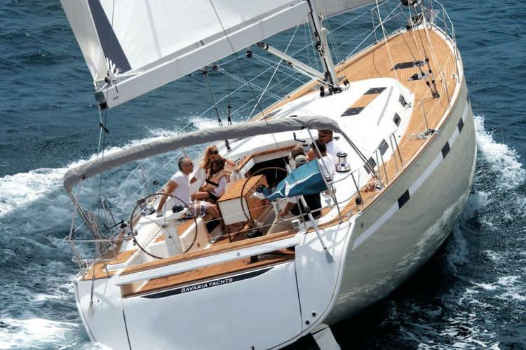 Enjoy a magical Greek holiday on this 49' Bavaria
