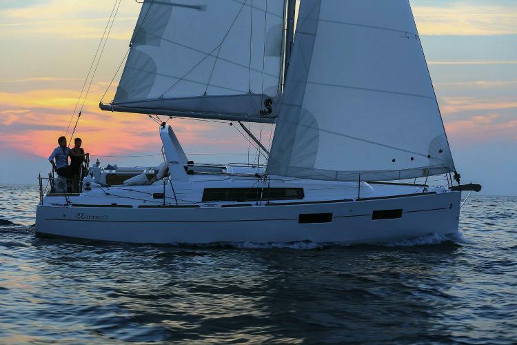 35.0 feet Beneteau in great shape