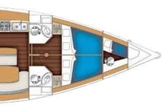 50.0 feet Beneteau in great shape
