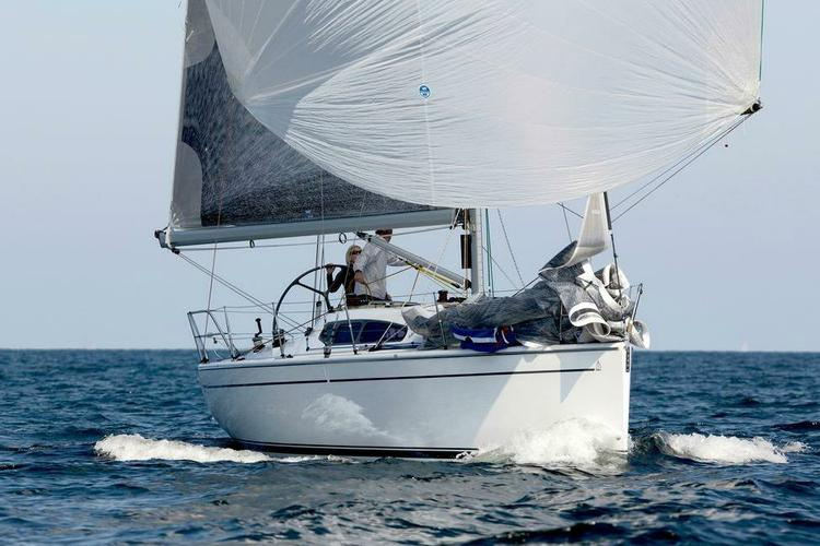 Discover Athens surroundings on this 35 Dehler boat