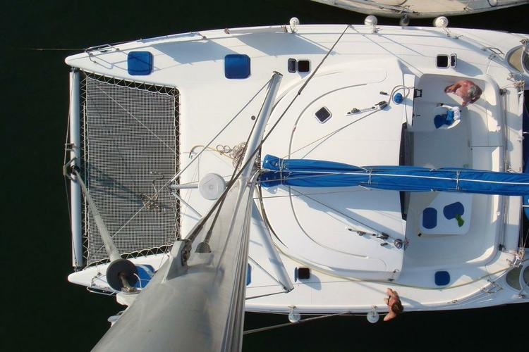 Catamaran boat for rent in Athens