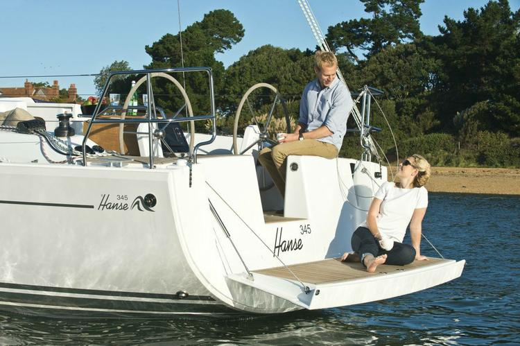 Discover Athens surroundings on this 345 Hanse boat