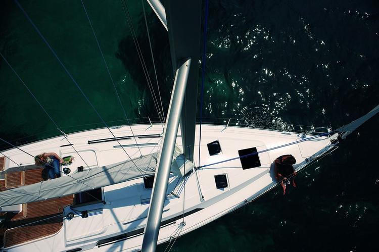 35.0 feet Hanse in great shape