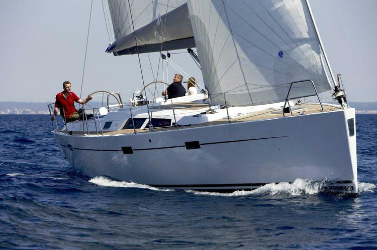 Enjoy sailing in luxury with this yacht from Hanse