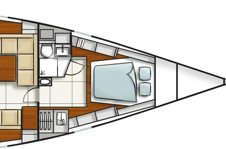 This 47.0' Hanse cand take up to 6 passengers around Athens