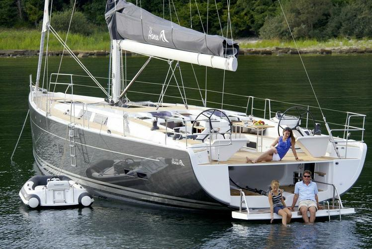 57.0 feet Hanse in great shape