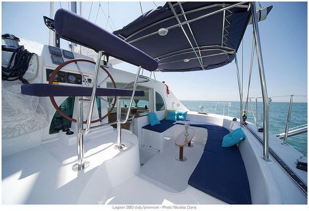 Catamaran boat rental in Alimos, Athens, Greece,