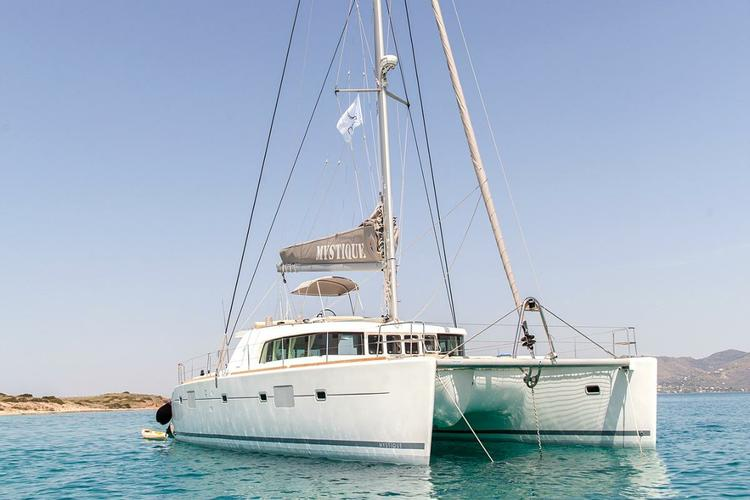 Relax and explore the Med on this luxurious catamaran