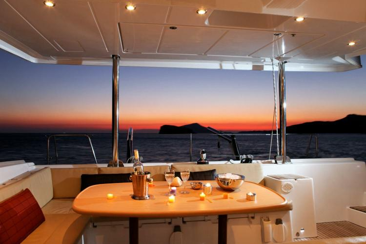Catamaran boat rental in Athens,