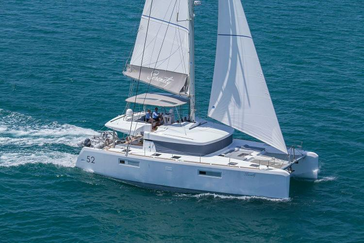 Sail away in the Med on this brand new catamran