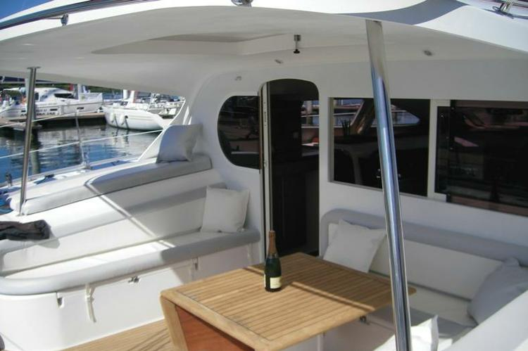 Discover Athens surroundings on this 47 Nautitech boat