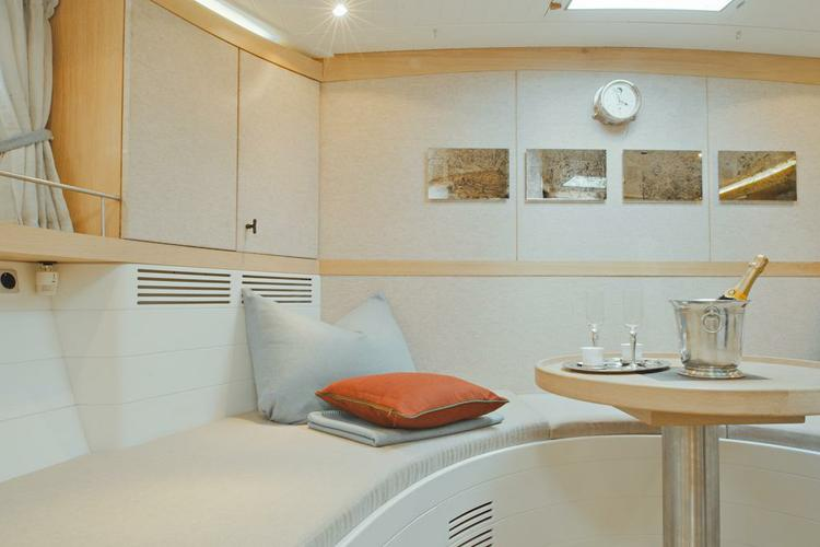 Discover Athens surroundings on this 68 Opus boat
