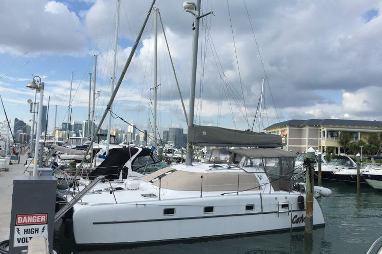 Catamaran boat rental in Rickenbacker Marina, FL