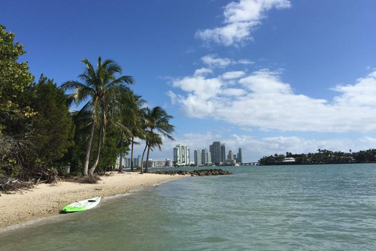Catamaran boat for rent in Key Biscayne