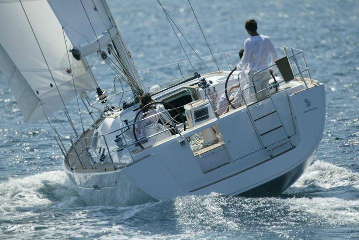 46.0 feet  Beneteau in great shape