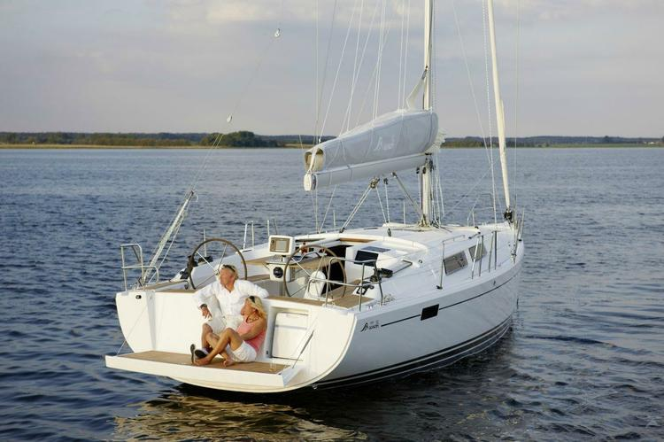 Discover Athens surroundings on this 385  Hanse boat