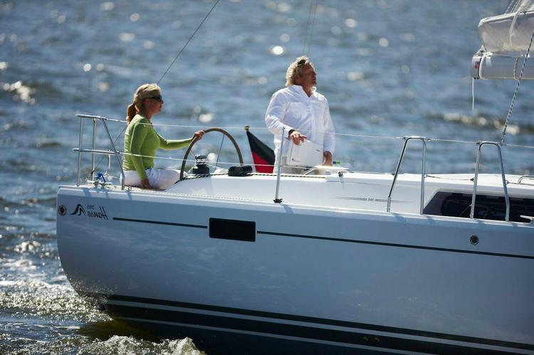 38.0 feet  Hanse in great shape