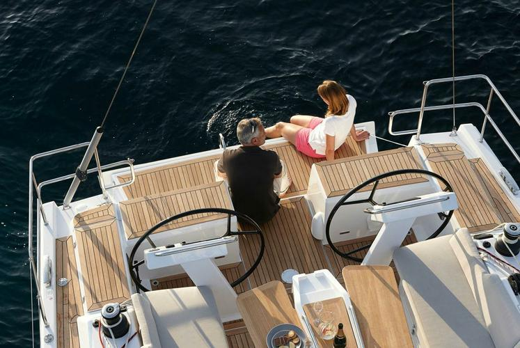 Discover Athens surroundings on this 455  Hanse boat
