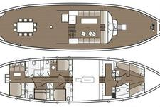thumbnail-17 Psaros Shipyard 78.0 feet, boat for rent in Athens, GR